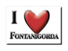 CALAMITA LIGURIA FRIDGE MAGNET MAGNETE SOUVENIR LOVE FONTANIGORDA (GE)