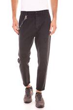 Pantaloni Daniele Alessandrini Jeans Trouser -65% Uomo Nero PJ5503L2703535-1