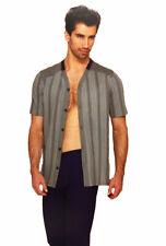 Pigiama uomo Cotone Jersey Manica corta lungo Aperto davantitascaLinclalor75605