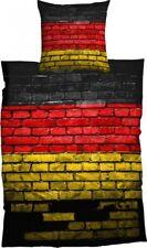 CASATEX Bettwäsche German Flag Deutschland Germany Fahne Graffiti Baumwolle