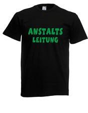 Herren T-Shirt  Anstaltsleitung  I Sprüche I Fun I Lustig bis 5XL