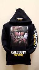 Call Of Duty WWII SWEATSHIRTS (NEW) Adult Sizes Black Hoodie