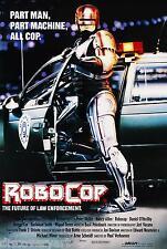 Robocop 1987 Multi-Size Movie Poster Canvas Wall Art Film Print Robot Sc-Fi