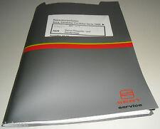 Werkstatthandbuch Seat Cordoba Vario Simos Einspritzanlage Zündanlage ab 1999