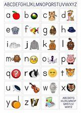 156270 mon ABC Alphabet Apprendre Tableau Mural imprimé Poster UK