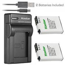 Kastar EN-EL12 battery charger for Nikon S6100 S6150 S6200 S6300 S8000 S8100
