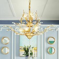 Luminous Light Chandelier Luxury Bulb Lamp Home Ceiling Fixtures Crystal Light
