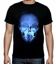X-ray Teschio Halloween Uomo T-Shirt-Fancy Dress Costume Dolcetto o Scherzetto Gotico