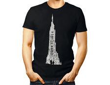 TOUR SOMBRE Unisexe T Shirt-STEPHEN KING film Femmes Hommes Cadeau Tee Top Noir Cadeau