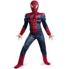 SpiderMan Costume Carnevale Bambino Maschera imbottito vestito