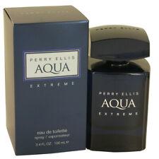 Perry Ellis AQUA EXTREME for Men ~ 3.4 oz EDT Spray / 6.8 oz Body Spray