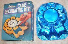 Vintage Blue Ribbon Foil Cake Pan in Original Box