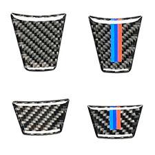 M Sport Carbon Fiber Steering Wheel Trim Decal Sticker For BMW E90 E92 2005-2012