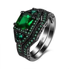 1PC Fashion Women Party Wedding Sapphire Simple Mosaic Rings 18KRGP Multi-color