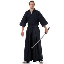 Japan Samurai Set Kendo Gi Hakama Iaido Aikido Kimono Katana Schwertkampf Outfit