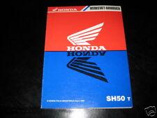 Werkstatthandbuch Honda SH 50 Stand 1996