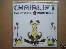 """CHAIRLIFT - EVIDENT UTENSIL -7"""" WHITE VINYL KAN291 2007"""