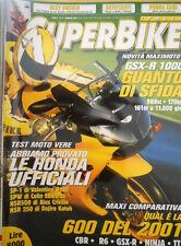 SuperBike 2 2001 Poster CBR 600 F. Nuova GSX-R 1000. Confronto tra CBR, R6, TT