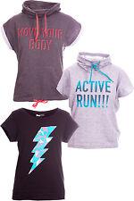 (R4) CRIVIT Maglietta Donna Fitness Sport manica corta maglione t-shirt casual