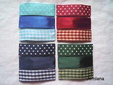 Jemlana's handmade snap clips (set of 3) for girls Blue,Burgundy, Navy,Green