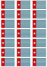 West Papua Flag Sticker Sheet
