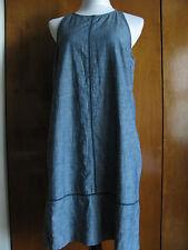 Gap women's gray 100% cotton lined dress size 4,10 NWT