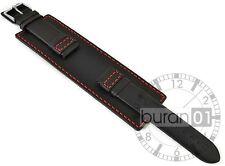 18mm20mm22mm24mm Pulsera de Reloj Banda Ancha Pieza Inferior Correa Cuero