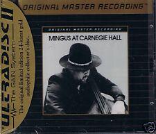 MINGUS, CHARLES AT CARNEGIE HALL MFSL Gold CD Neu OVP S