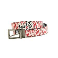 Lowlife Men's Camo White/Tomato/White Belt