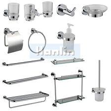 Modern Bathroom Accessory Towel Rail Rack Robe Hook Soap Dish/dispenser Toilet