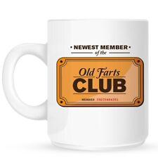 Old Farts Club White Mug