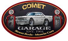 1964 Mercury Comet Hardtop Garage Sign Wall Art Graphic Sticker