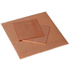 T2 Copper Sheet 100x100mm 200x200mm Conductive Metal Cut Tool 0.8mm~5mm Thick