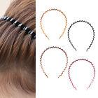 Haarreif  Spiralhaarreif Schwarz Metall Haarband Frisurenhilfe Kopfschmuck OPK3