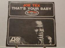 JOE TEX That's your baby 650134