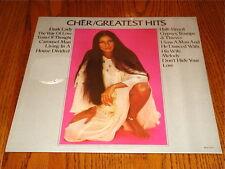 CHER GREATEST HITS Original LP STILL SEALED!