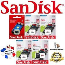 Carte Mémoire SANDISK Classe 4 / 10 - Micro SD SDHC SDXC 8 16 32 64 ou 128 Go Gb