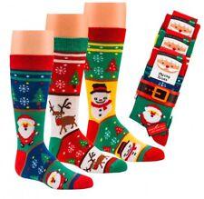 Kinder Weihnachts-Söckchen * 3er-Bündel Handgekettelt CH-3204