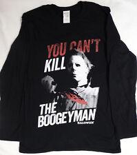 Michael Myers Halloween Movie You Can't Kill the Boogeyman Long Sleeve T-Shirt