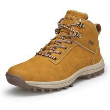 Fashion Men's Hiking Shoes Outdoor Warm Plush Running Sports Sneakers Winter