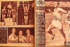 LE MIROIR DES SPORTS 1956 N° 602 SPECIAL JEUX OLYMPIQUE