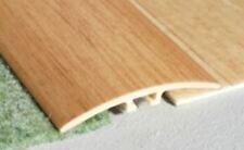 UPVC SELF-ADHESIVE Wood Effect Door Edging Floor Trim Threshold 1000 x 40mm E64