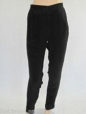 Ideology Ladies Multi Stitch Detail Relaxed Pants sizes 6 8 10 16 Colour Black