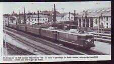 1981  --  TRAIN RAPIDE EN GARE DE TARBES  P473