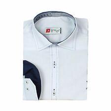 Children Cotton blend Shirt Boy Casual White Shirts Kids Party Long Sleeve Shirt