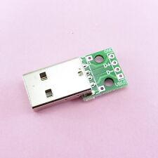 USB Mâle A vers Dip 4 broches 2.54 mm Adaptateur Convertisseur Puissance du signal PCB Board en-tête