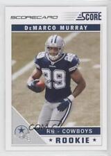 2011 Score Scorecard #329 DeMarco Murray Dallas Cowboys Rookie Football Card