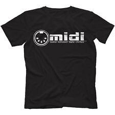 Midi T-shirt 100% coton de synthétiseur analogique rétro général