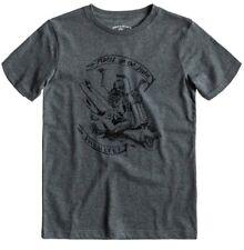 Quiksilver Basic Short Sleeve T-Shirt in Grey Heather