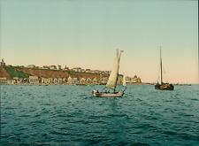 Helgoland. Nordostspitze. P.Z., photochromie, vintage photochrome, Deutschland